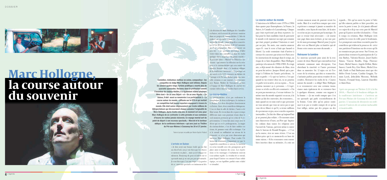 L'Agenda – La revue culturelle de l'Arc lémanique, janvier - février 2017
