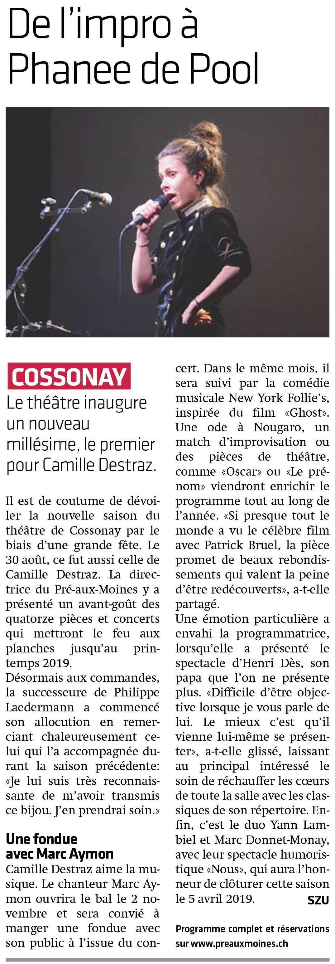 La Côte, 14.09.2018