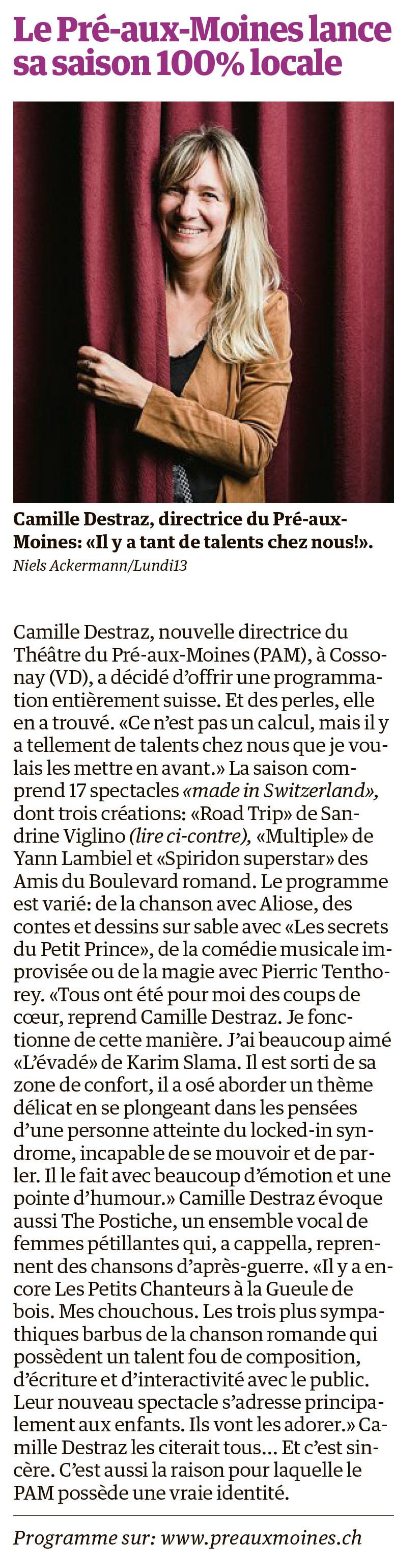 Le Matin Dimanche, 20.10.2019
